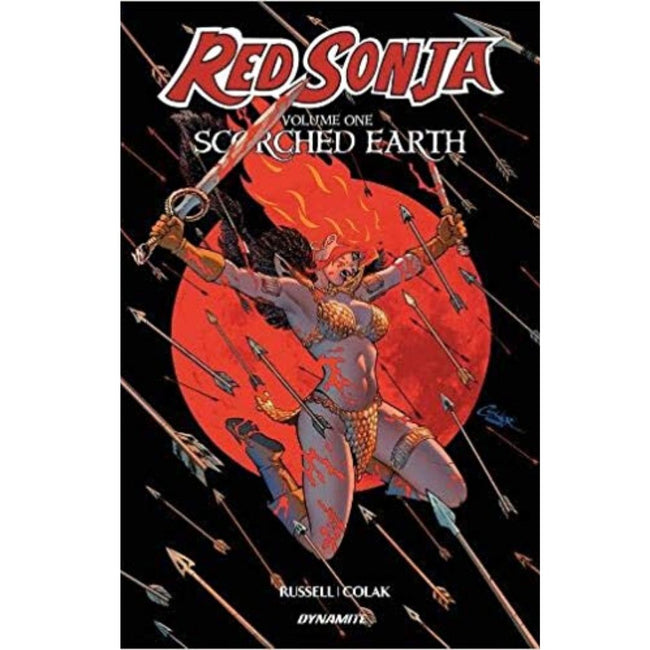 RED SONJA (2019) SCORCHED EARTH TP