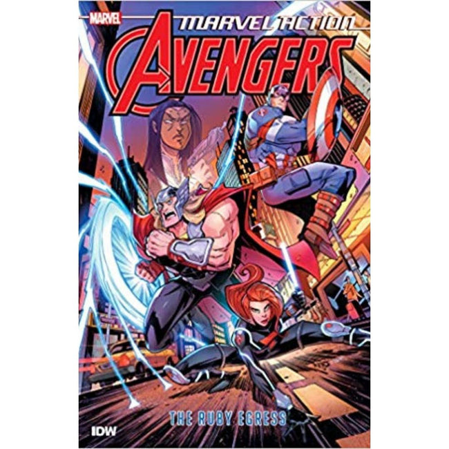 MARVEL ACTION AVENGERS TP BOOK 02 THE RUBY EGRESS
