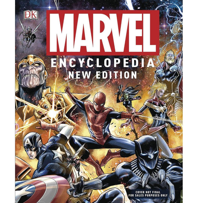 MARVEL ENCYCLOPEDIA HC (NEW EDITION)