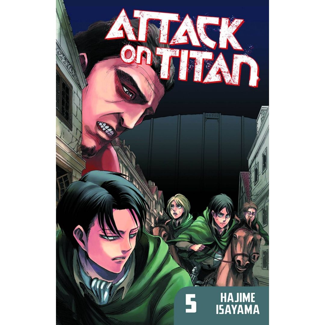 ATTACK ON TITAN TP VOL 05