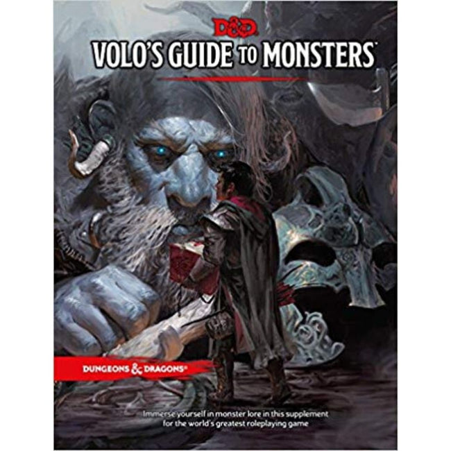 DUNGEONS AND DRAGONS - VOLOS GUIDE TO MONSTERS