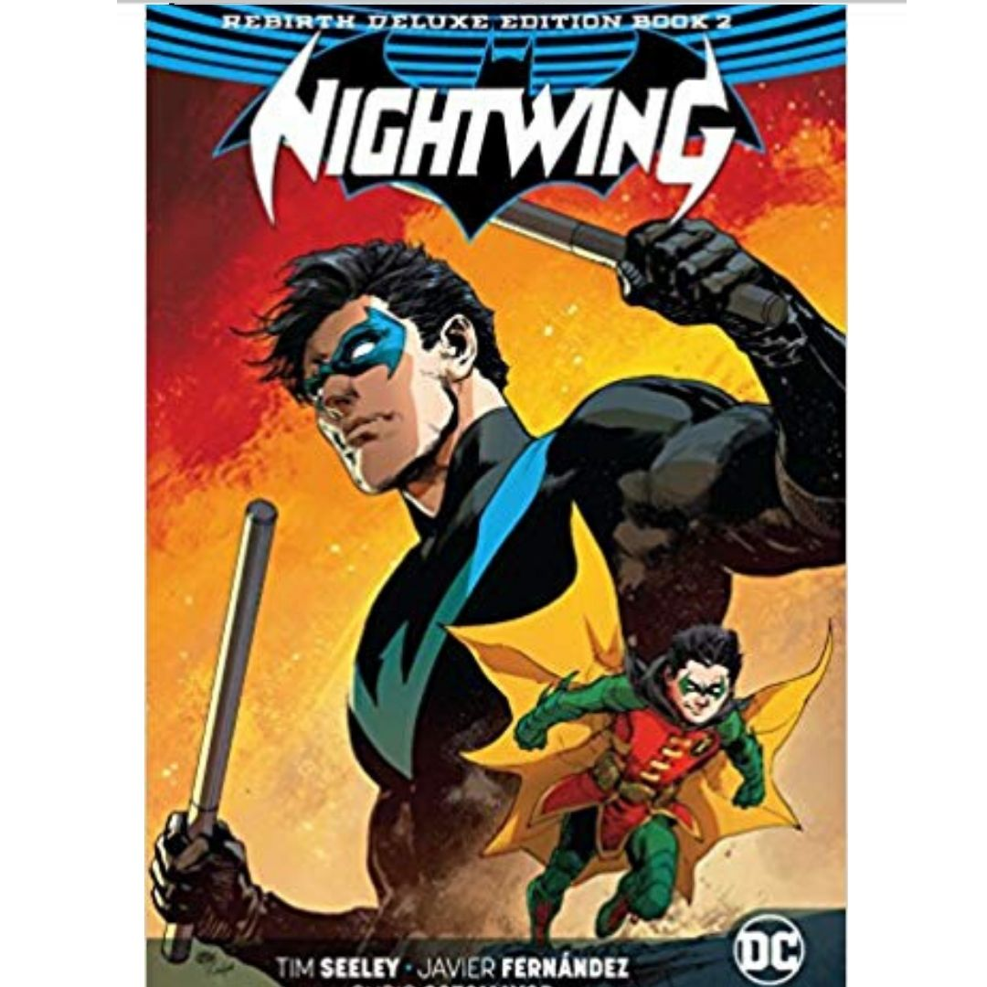 NIGHTWING REBIRTH DELUXE COLLECTION HC BOOK 02