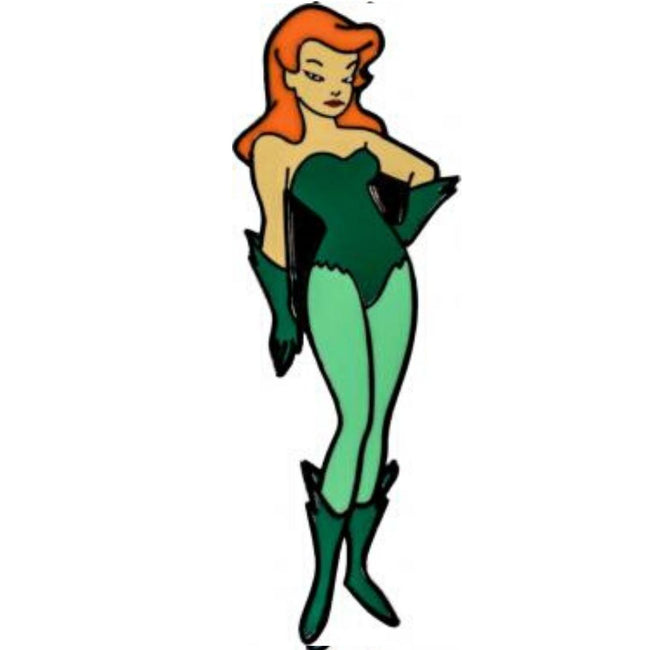 BATMAN ANIMATED - POISON IVY ENAMEL PIN