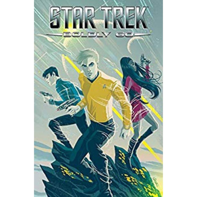 STAR TREK BOLDLY GO TP VOL 01