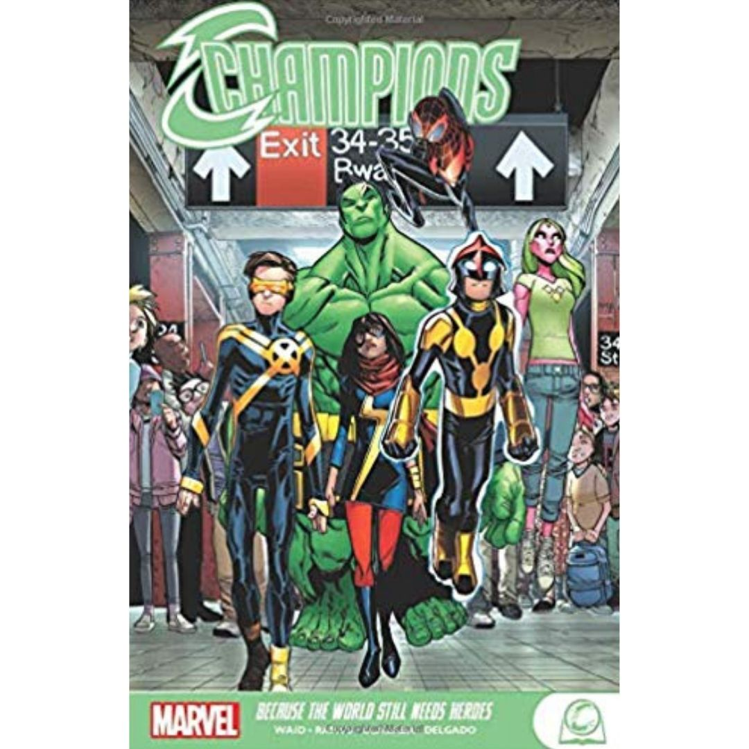CHAMPIONS GN TP BECAUSE THE WORLD STILL NEED HEROES