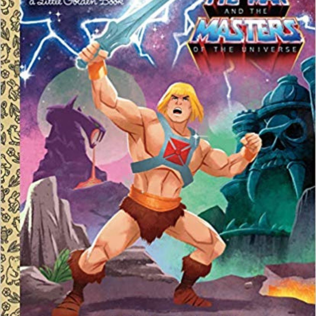 I AM HE-MAN LITTLE GOLDEN BOOK