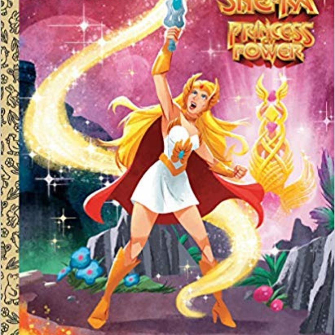 I AM SHE-RA LITTLE GOLDEN BOOK