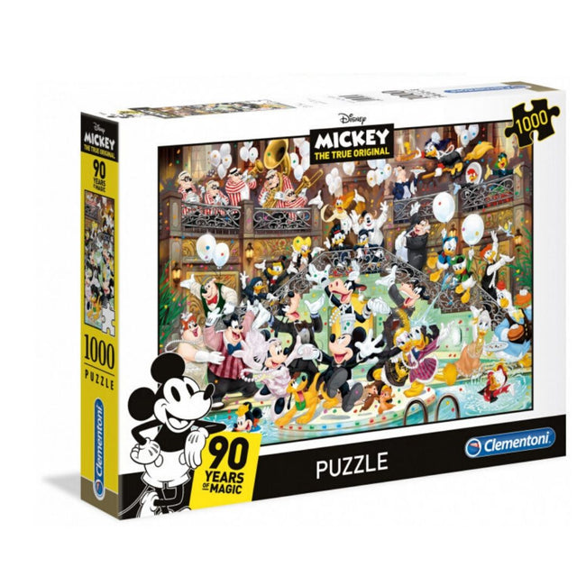 DISNEY MICKEY'S 90 YEARS 1000 PIECE PUZZLE
