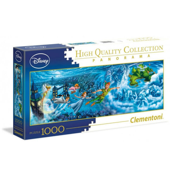 DISNEY PETER PAN PANORAMA 1000 PIECE PUZZLE