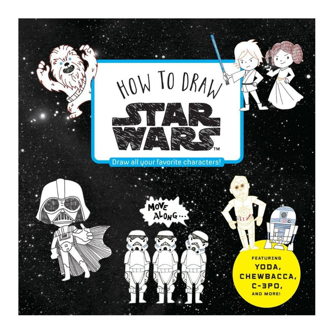 HOW TO DRAW STAR WARS SC
