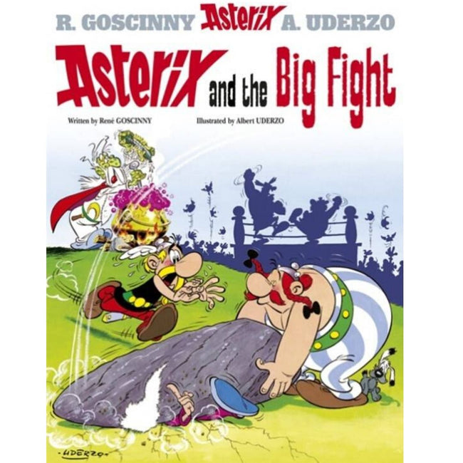 ASTERIX AND THE BIG FIGHT HC