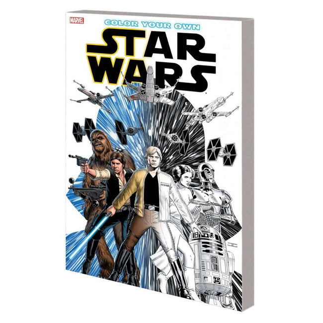 COLOR YOUR OWN STAR WARS TP