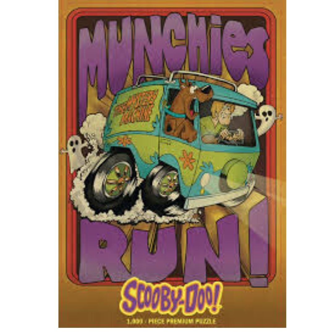 SCOOBY DOO! MUNCHIES RUN 1000 PIECE PUZZLE