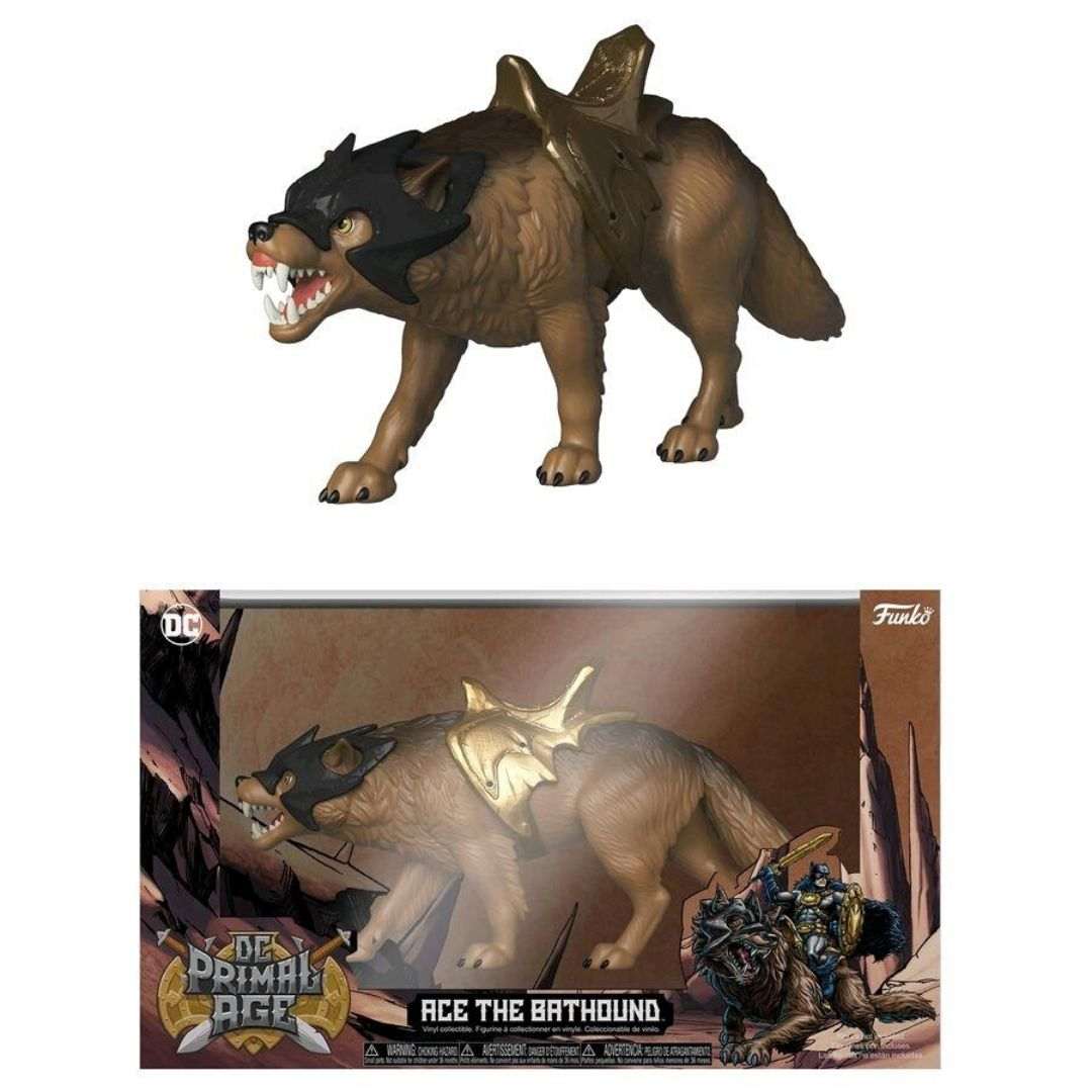 DC PRIMAL AGE : ACE THE BAT HOUND SAVAGE WORLD FIGURE
