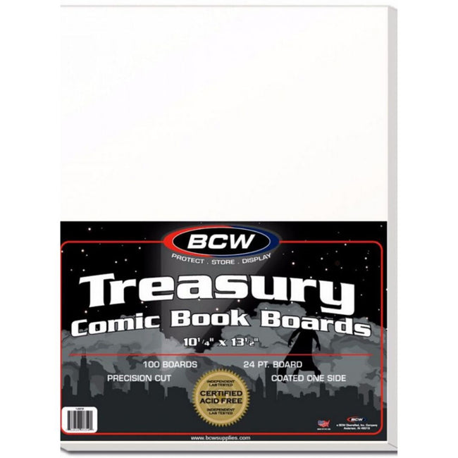 BCW TREASURY SIZE COMIC BOOK BOARDS
