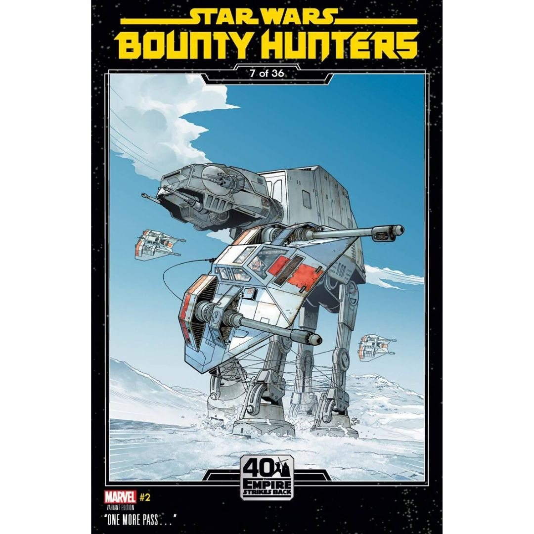 STAR WARS BOUNTY HUNTERS #2 SPROUSE EMPIRE STRIKES BACK VAR