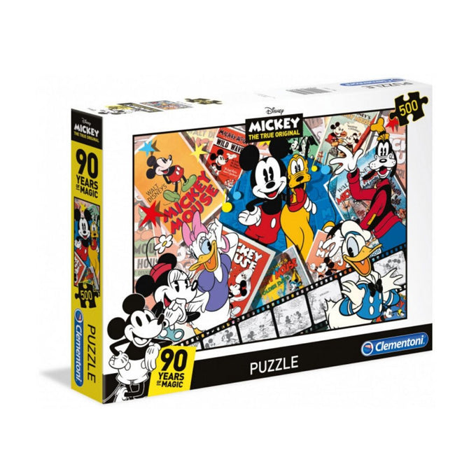 DISNEY MICKEY'S 90 YEARS 500 PIECE PUZZLE