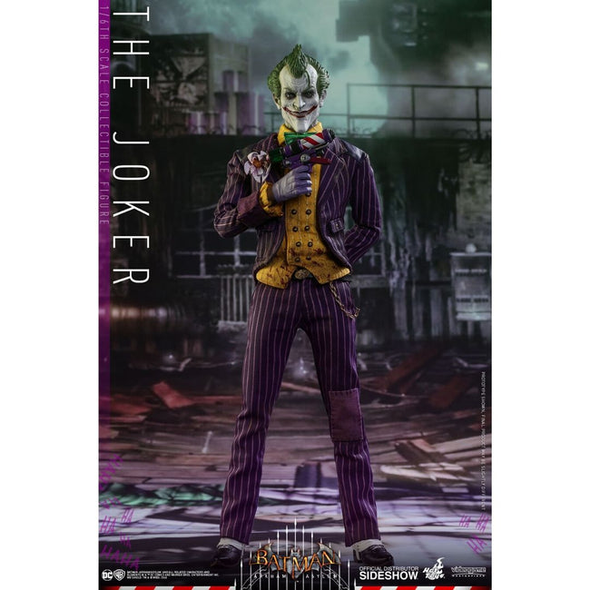 Batman Arkham Asylum Joker Hot Toy