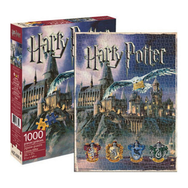 HARRY POTTER HOGWARTS PUZZLE 1000 PIECES