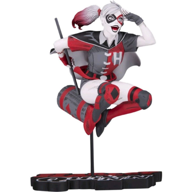 Batman - Harley Quinn Red, White & Black by Guillem March Statue