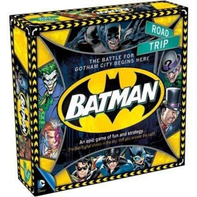 ROAD TRIP BATMAN BOARD GAME
