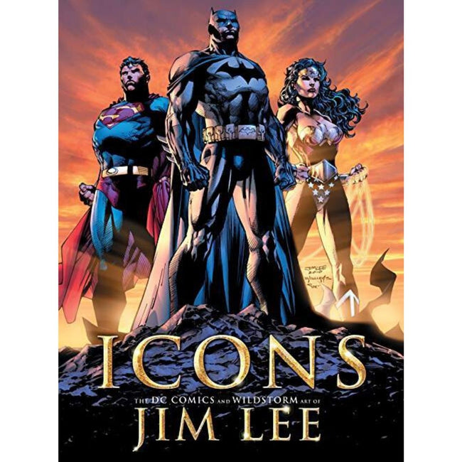 ICONS THE DC COMICS AND WILDSTORM ART OF JIM LEE
