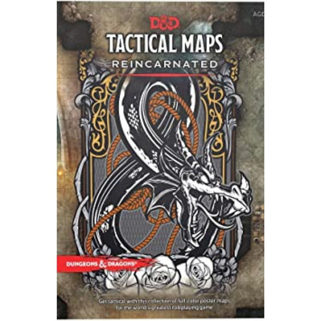 Dungeons & Dragons D&D Tactics Map Pack Reincarnated