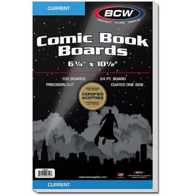 BCW CURRENT COMIC BOARDS