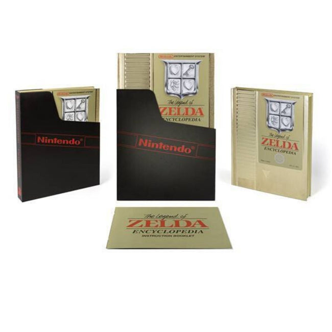 LEGEND OF ZELDA ENCYCLOPEDIA DELUXE EDITION HC