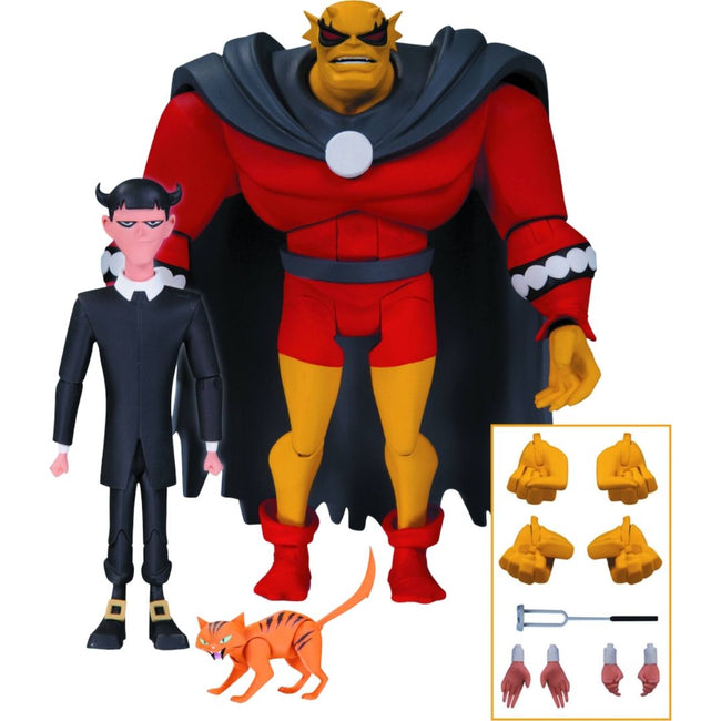 BATMAN ANIMATED SERIES ETRIGAN & KLARION ACTION FIGURE PACK