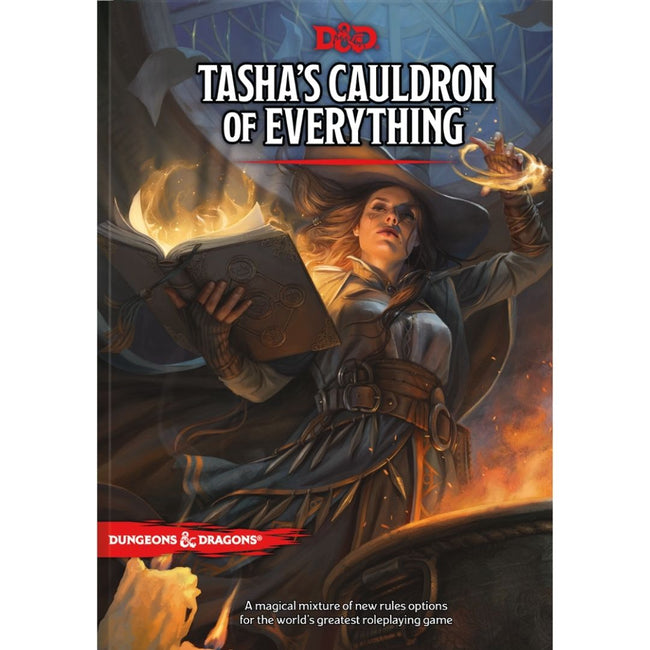 Dungeons & Dragons Tasha's Cauldron of Everything