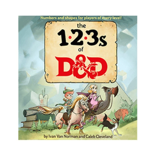 DUNGEONS & DRAGONS 123's of D&D
