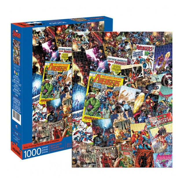MARVEL AVENGERS COLLAGE 1000 PIECE PUZZLE