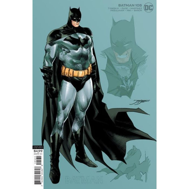 BATMAN #105 1:25  JIMENEZ CARD STOCK VARIANT