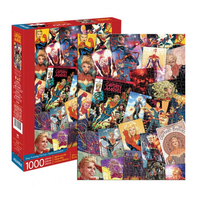 MARVEL CAPTAIN MARVEL 1000 PIECE PUZZLE