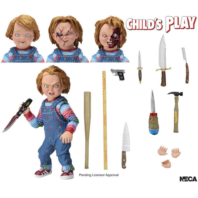 "Child's Play - Chucky 7"" Scale Ultimate Action Figure"