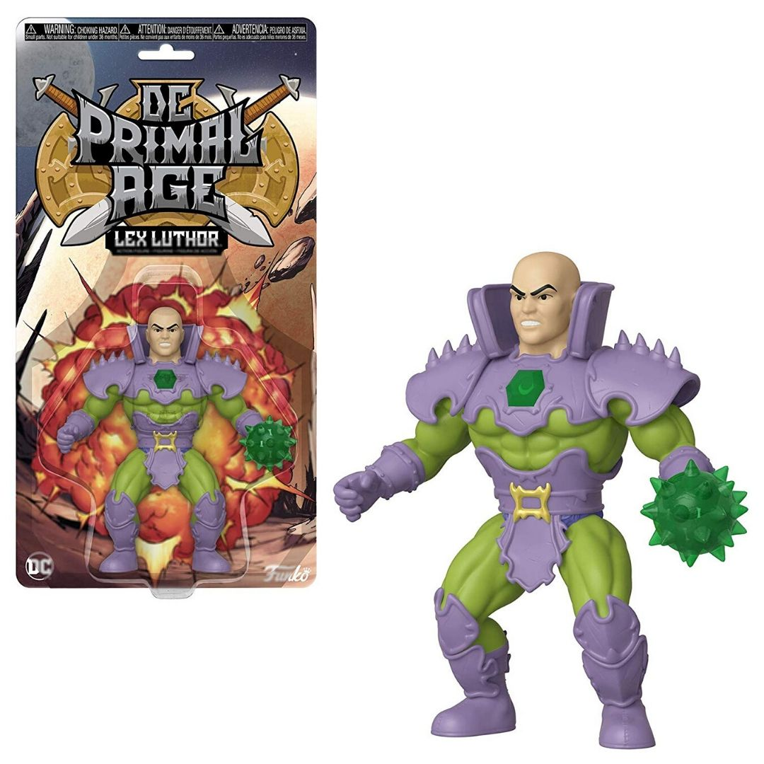 DC PRIMAL AGE : LEX LUTHOR SAVAGE WORLD FIGURE