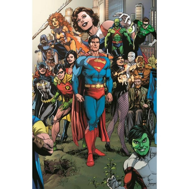 DARK NIGHTS DEATH METAL THE LAST STORIES OF THE DC UNIVERSE #1 (ONE SHOT) GARY FRANK 1:25 VARIANT