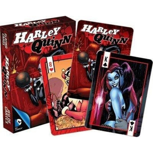 DC COMICS HARLEY QUINN PLAYING CARDS