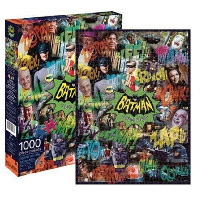 DC BATMAN PUZZLE TV COLLAGE 1000 PIECES