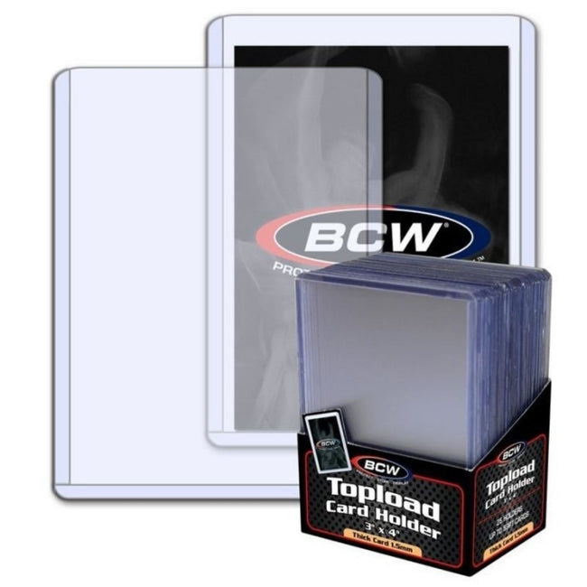 "BCW Topload Card Holder Thick 59 Pt (3"" x 4"")"