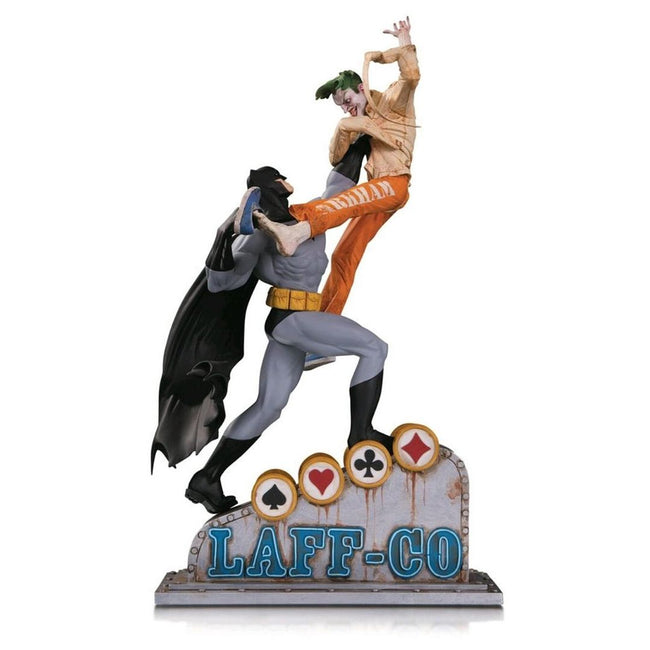 Batman - Batman vs Joker Laff Co Statue