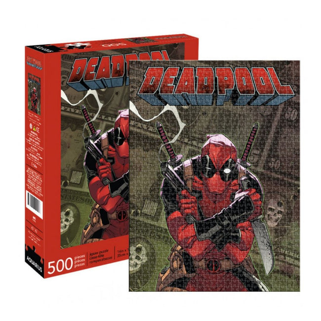 MARVEL DEADPOOL 500 PIECE PUZZLE