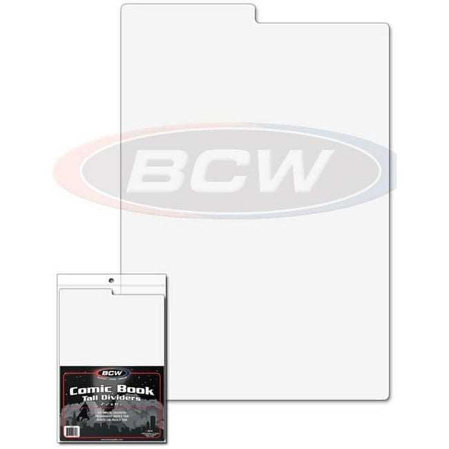 BCW TALL COMIC BOOK DIVIDERS