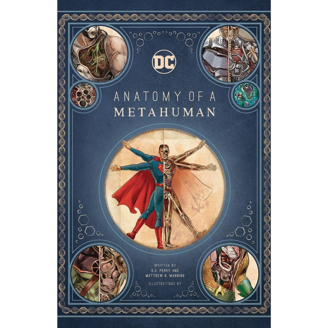 DC COMICS ANATOMY OF METAHUMAN HC