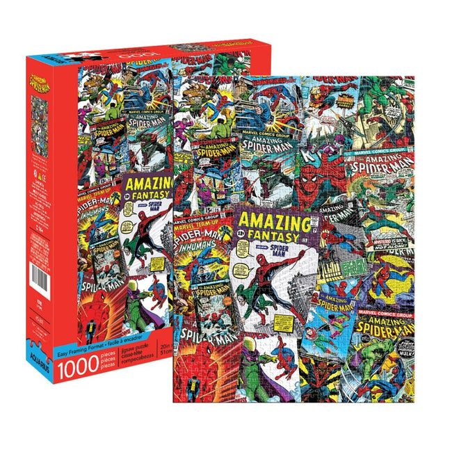 MARVEL SPIDER-MAN COLLAGE 1000 PIECE PUZZLE