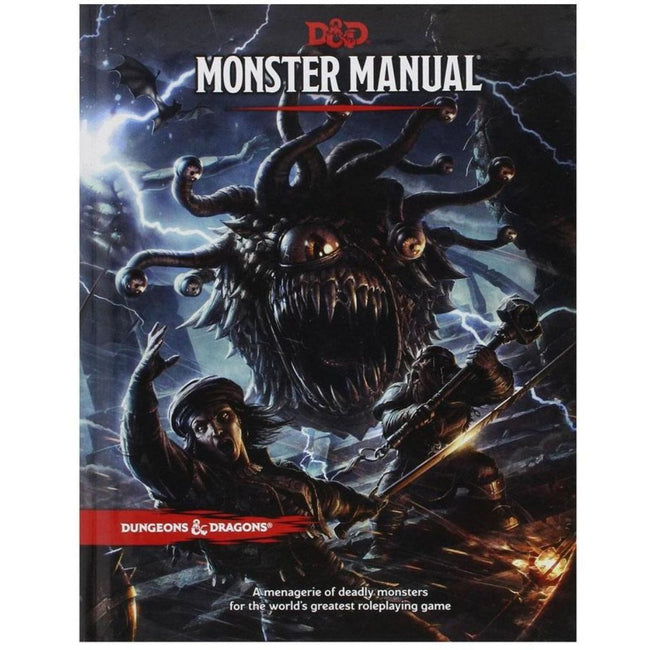 DUNGEONS AND DRAGONS - MONSTER MANUAL