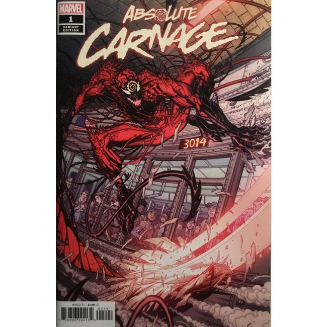 ABSOLUTE CARNAGE #1 (OF 5) BRADSHAW VAR AC 2019 (1:50)