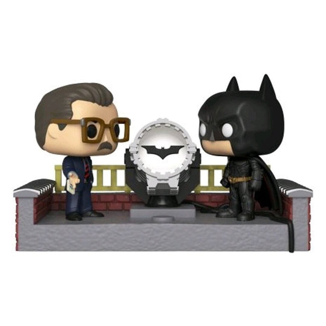 BATMAN AND COMMISSIONER GORDON MOVIE MOMENT POP