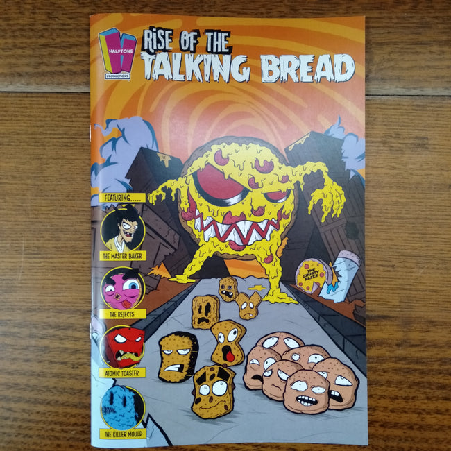Rise of the Talking Bread #1